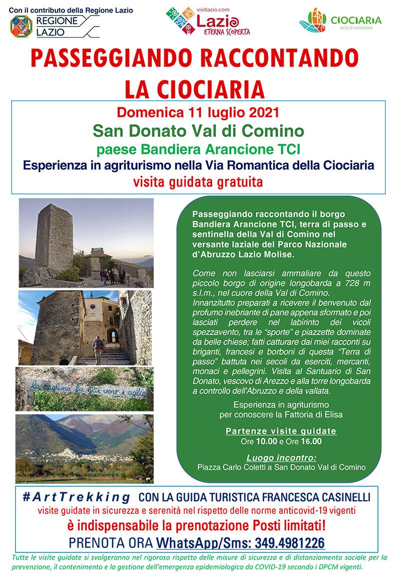 San Donato Val di Comino e la Via Romantica della Ciociaria